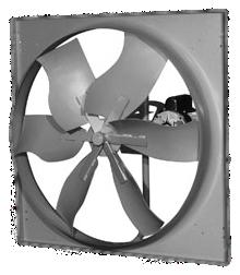 ThermoTek Axial Wallmount Exhaust Fan Model WPC-TA