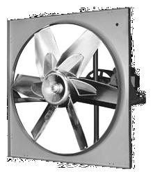 ThermoTek Axial Wallmount Exhaust Fan Model WPK-TA